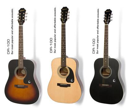 Đại lý Bán Đàn Guitar Ephiphone DR 100