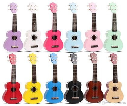 Tổng hợp Đàn ukulele màu size 21
