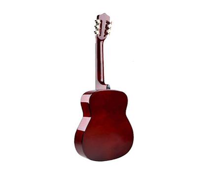 Mặt sau đàn guitar phổ thông