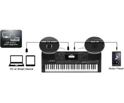 Đàn organ Yamaha PSR-463 kèm adaptor