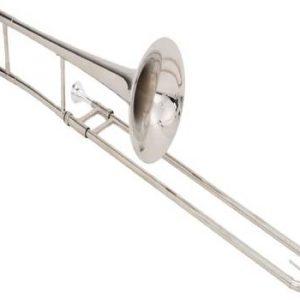 Kèn trombone lazer trắng chính hãng