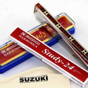 Bán kèn harmonica suzuki 24 lỗ hộp giấy